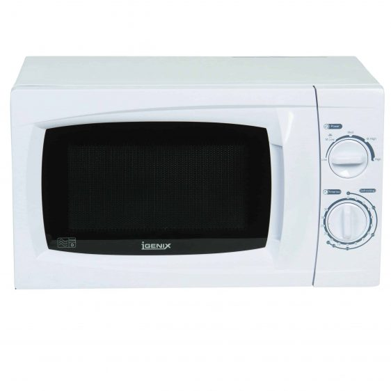 Igenix IG2070 - Microwave oven - freestanding - 20 litres - 700 W - white