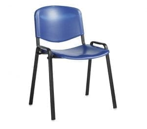 Taurus Blue Plastic Chair