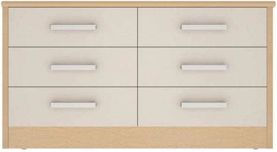 forest 6 drawer wide chest