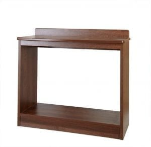 lucerne console table bow fronted