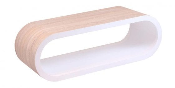 Unity Coffee Table Natural & White