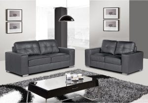 Grey Rome Sofa Set