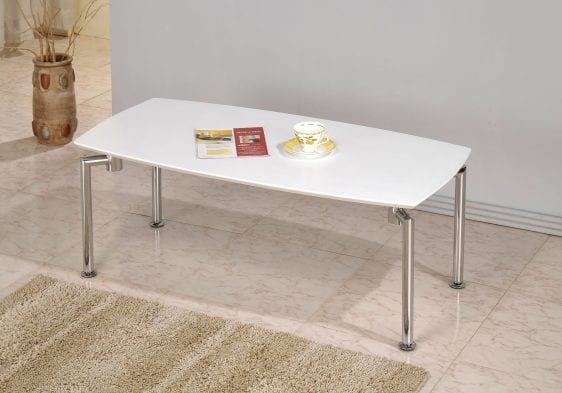 Dove Coffee Table in White