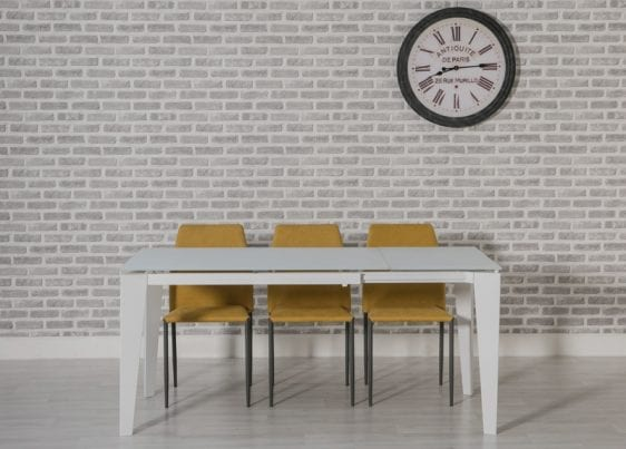 Avanti Extending Dining Table White