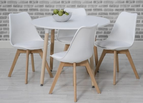 Urban Round Table White