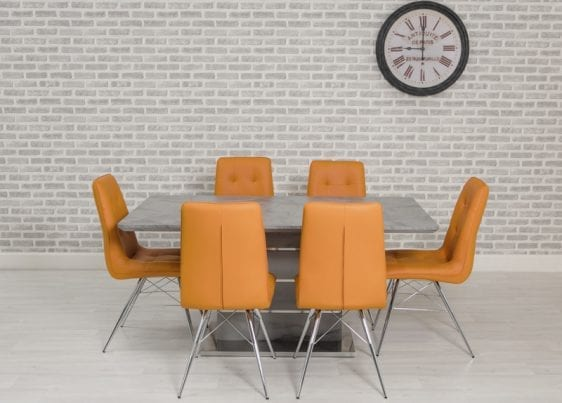 Vancouver Dining Table with Tampa Chairs