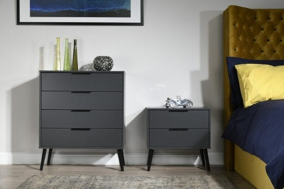 Hong Kong Graphite Bedroom Set