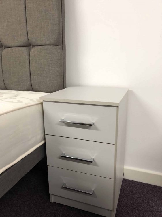 Ravenna Grey 3 Drawers