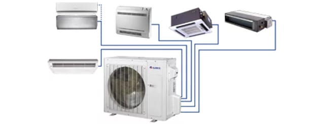 Multi Split Air Conditioning Systems