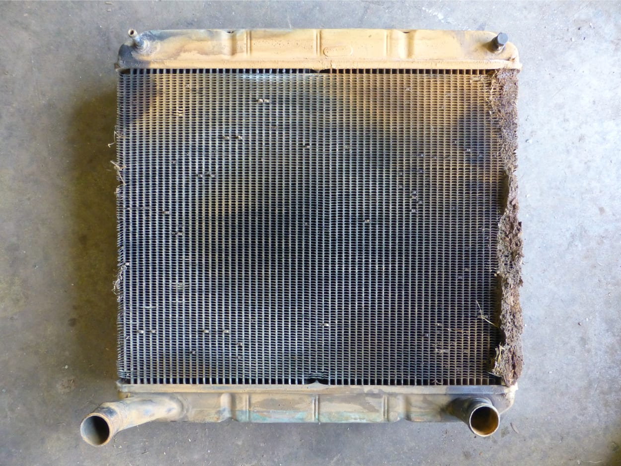 Deutz Fahr Agi Plus 100 Tractor Radiator in Need of a New Core Truro Cornwall