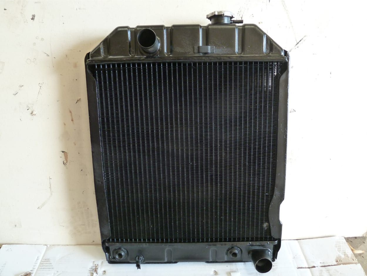 Ford 5610 Tractor Radiator Repaired Barnstaple Devon