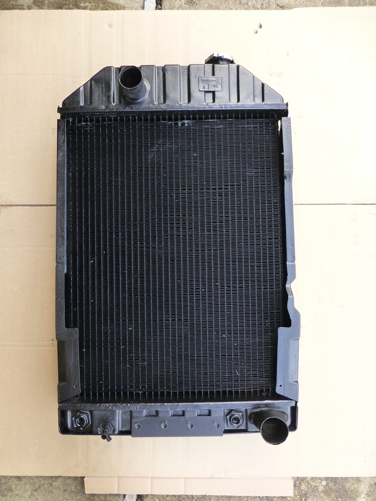 Ford 7810 Tractor Radiator Repaired