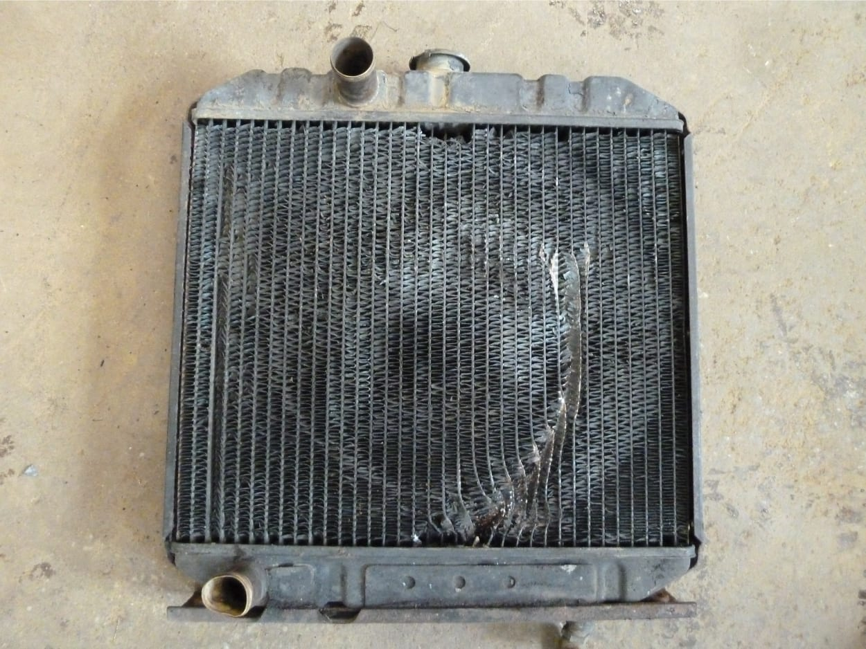 Kubota L345 Tractor Radiator in Need of New Core Crediton Devon