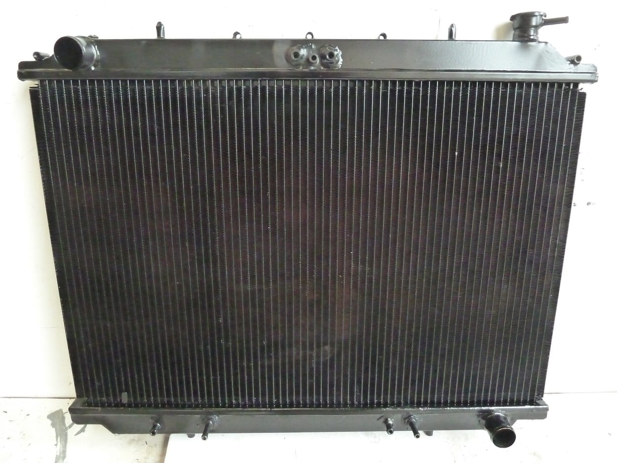 Nissan Largo Radiator Made in Copper and Brass Bideford Devon
