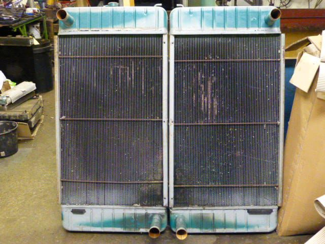 Perkins 3008 Tag JW Genset Radiator in Need of Attention Newquay Cornwall
