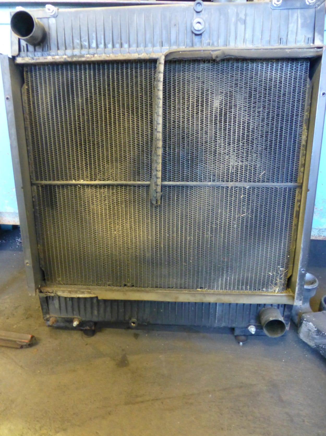 SDMO Genset Radiator Awaiting Copper and Brass Replacement Cornwall