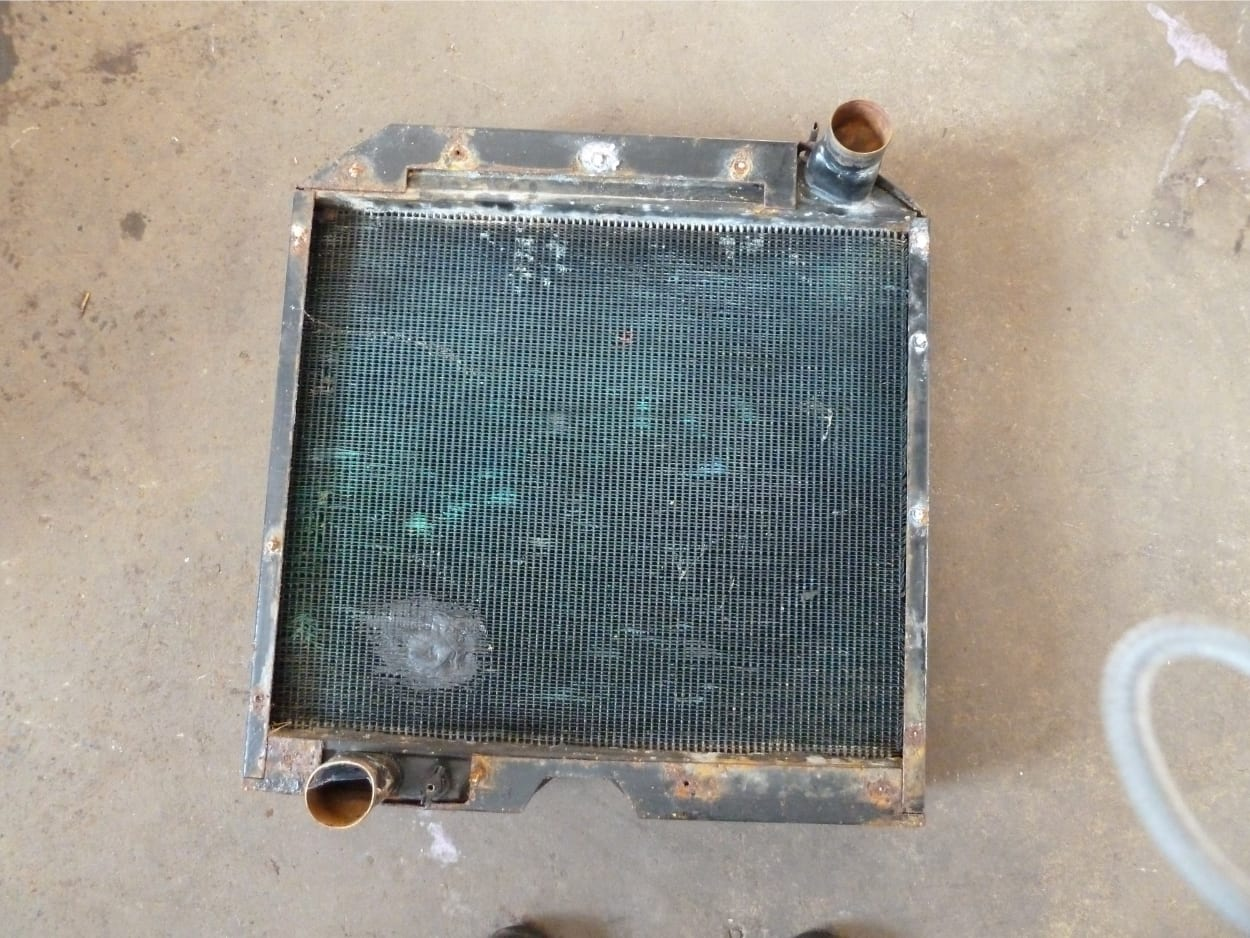 Valmet Tractor Radiator in Need of New Core Sidmouth Devon