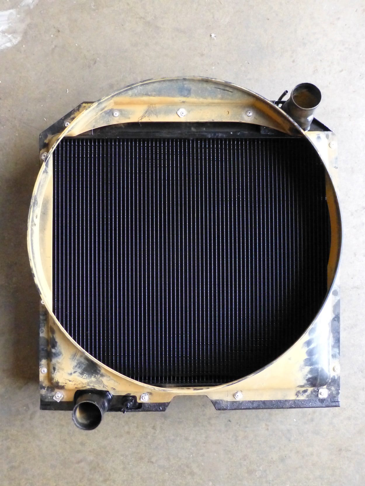 Valtra T140 Tractor Radiator Recored Bude Cornwall