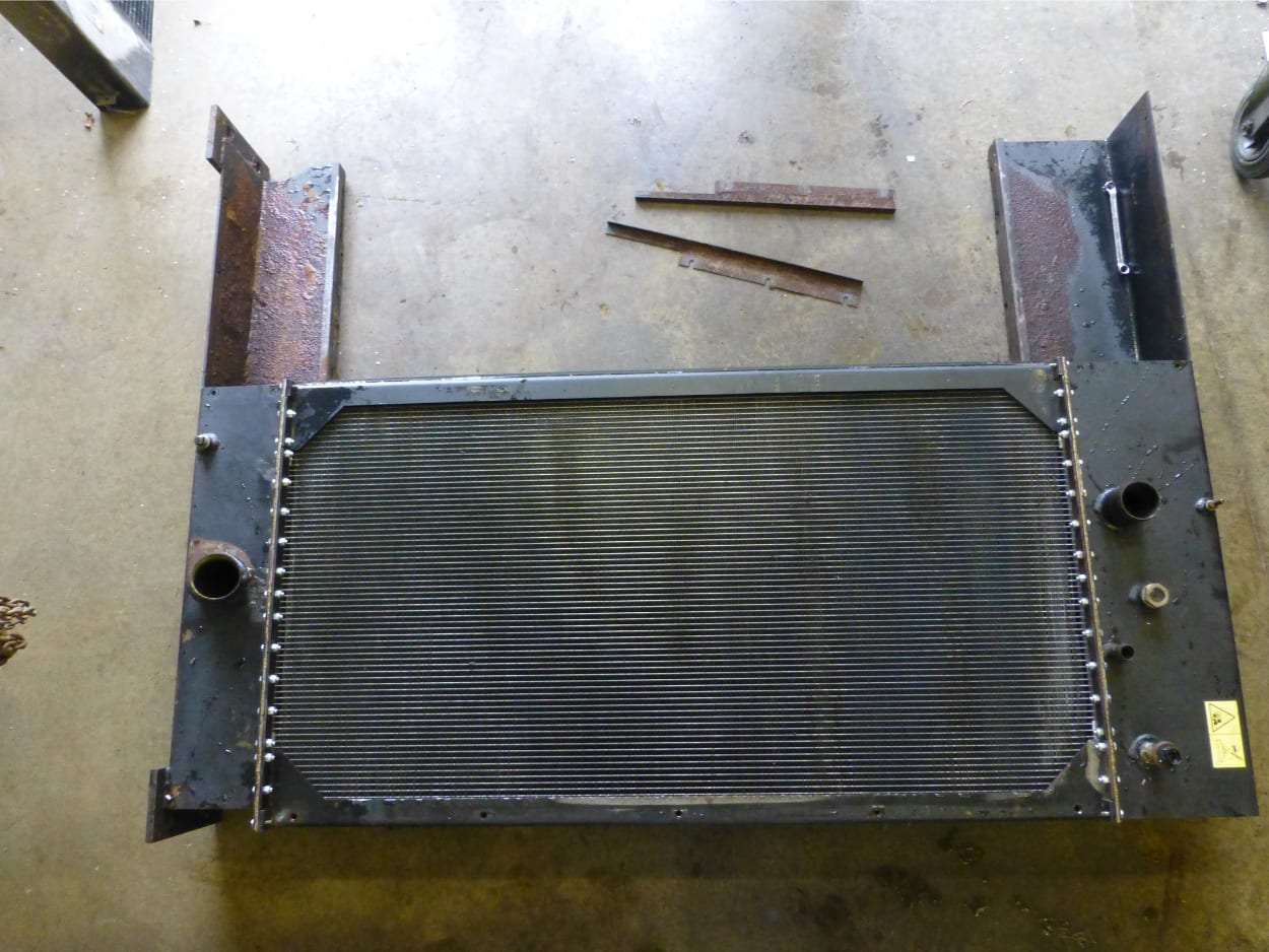 Vermeer Wood Chipper Radiator New Tinned Core Fitted to Tanks South Molton Devon