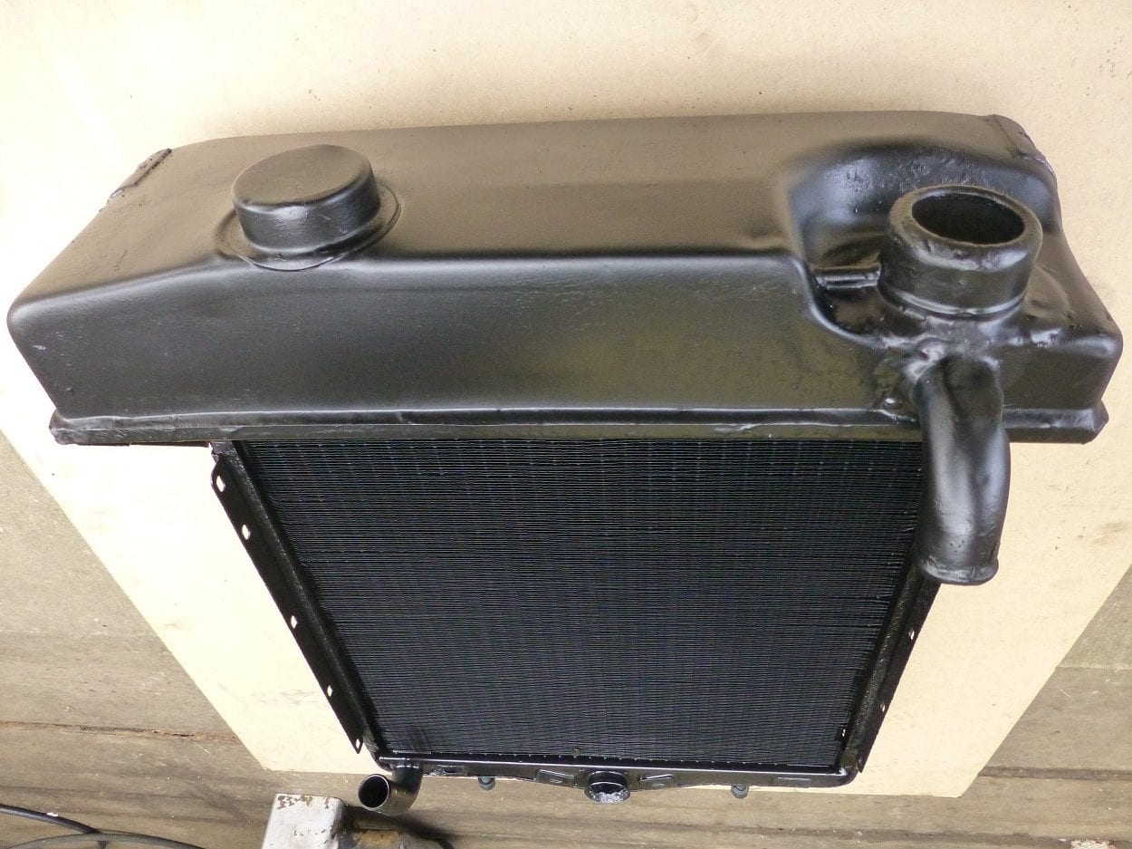 Austin K8 Radiator Recored and New Filler Neck Made Redruth Cornwall