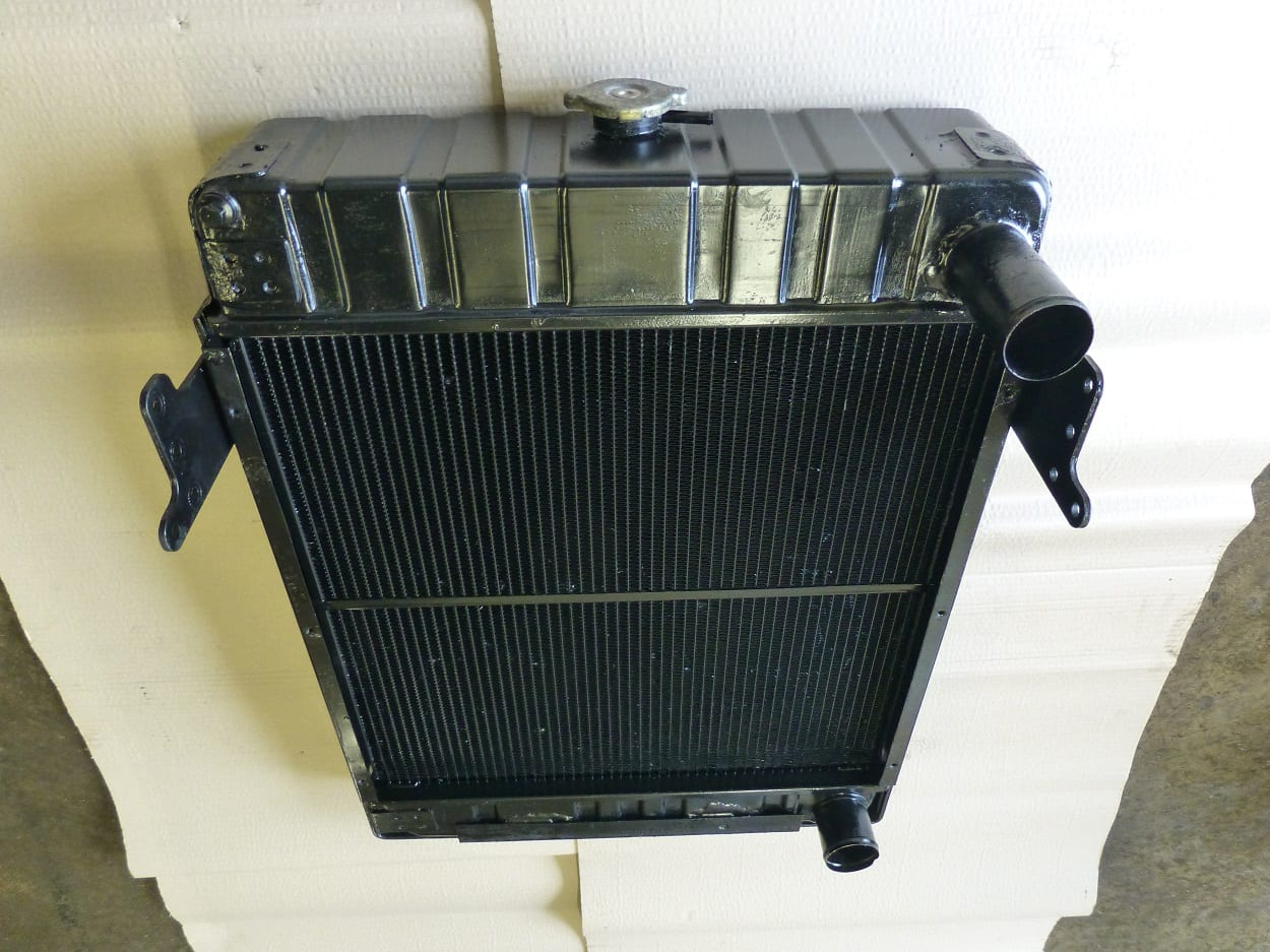 Barford 6 Ton Dumper Radiator Repaired Bodmin Cornwall