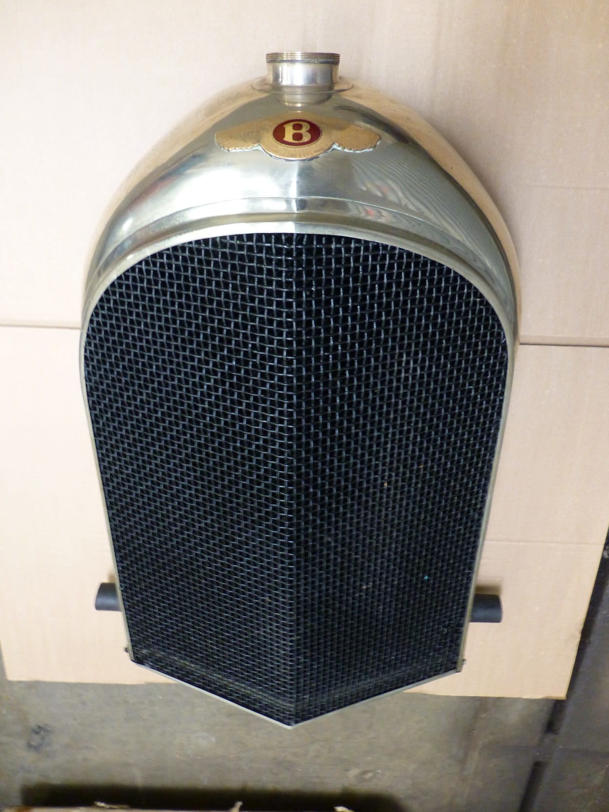 Bentley 3.0 1934 Radiator Checked for Leaks Indian Queens Cornwall