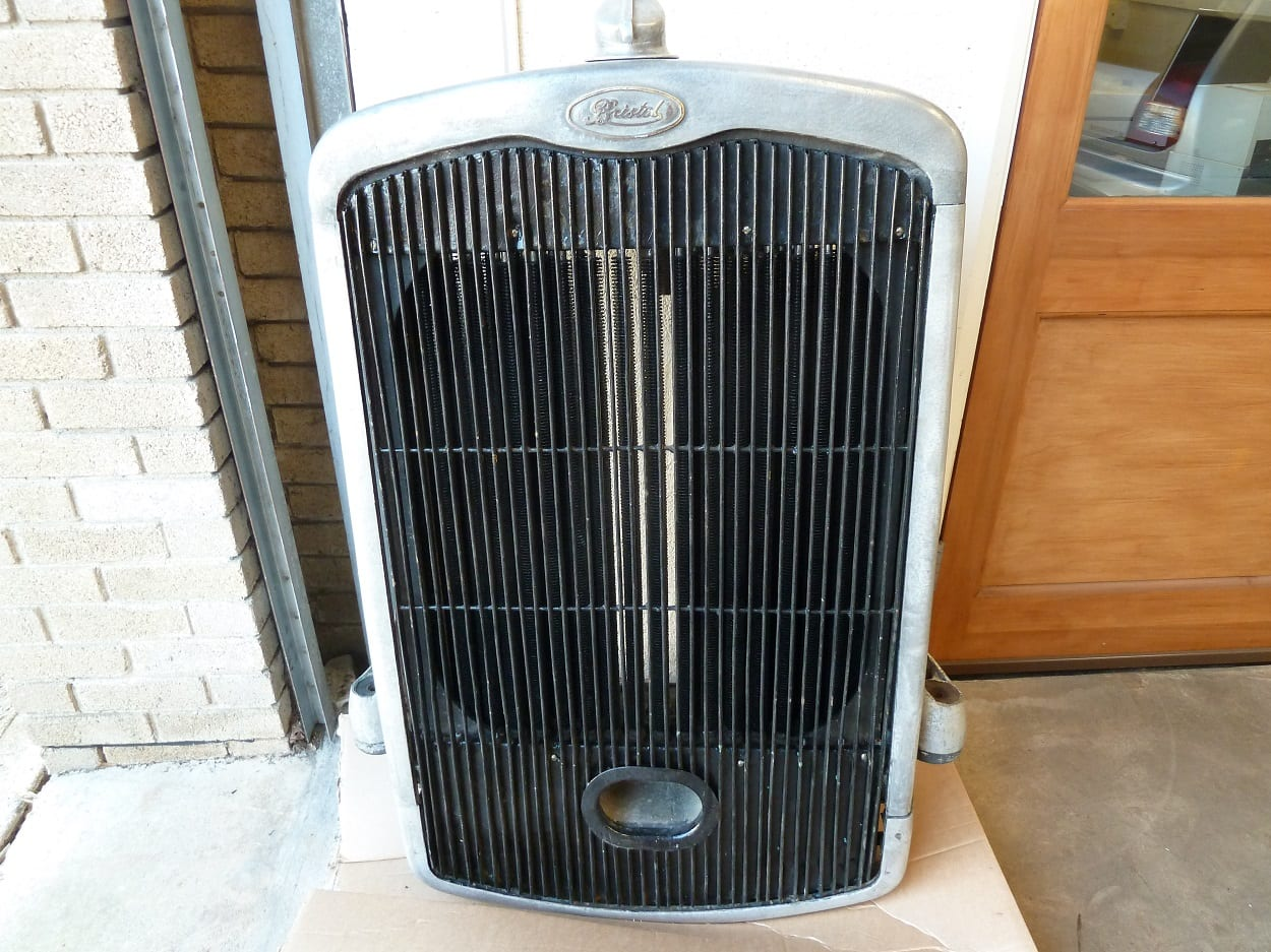 Bristol J Type Bus Radiator Repaired Devon
