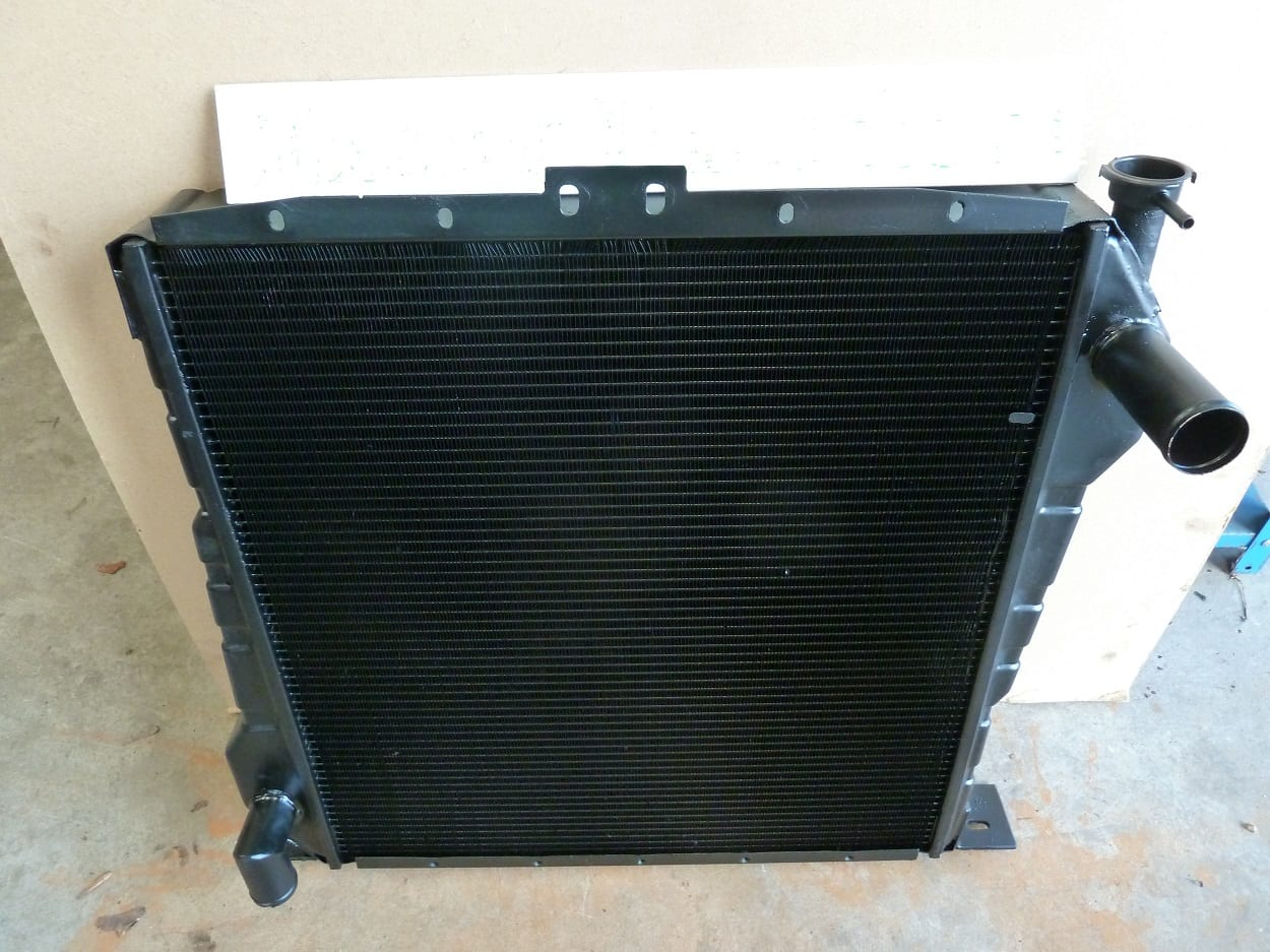 Caterpillar TH63 Telehandler Radiator New Core Devon