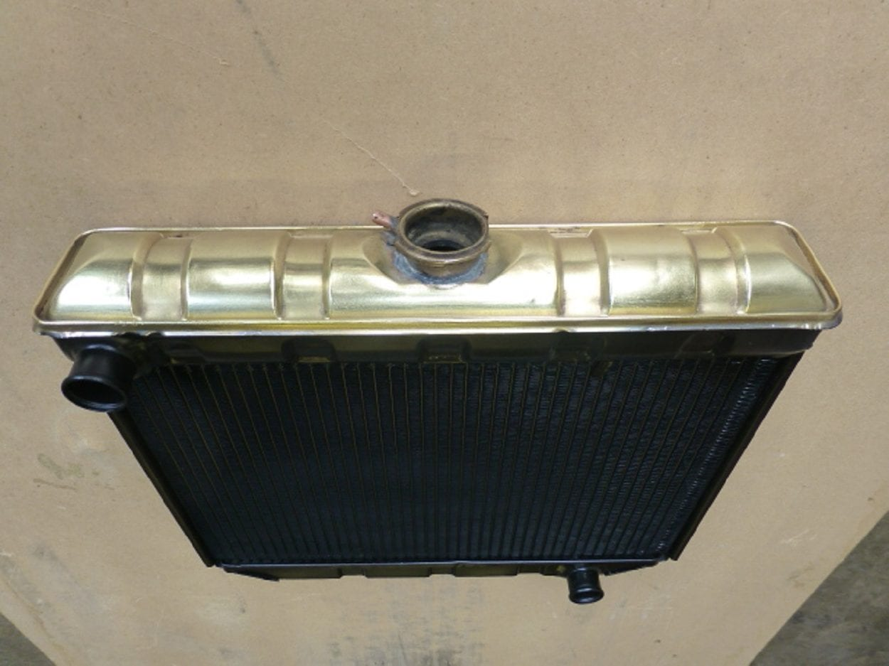 Ford Cortina Mk1 Radiator Recored Conrwall