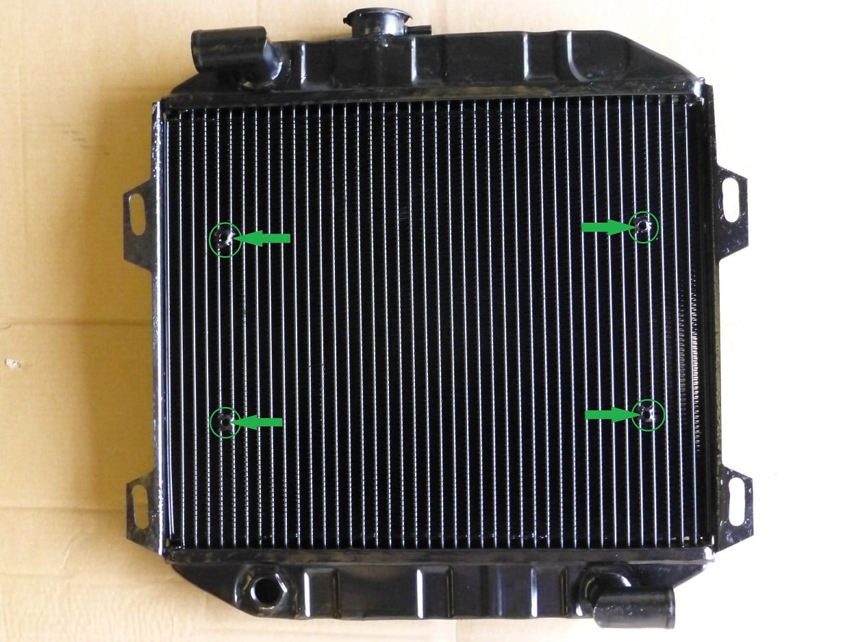 Ford Escort RS2000 Radiator Upgraded Core with Tubes for Electric Fan Redruth Cornwall