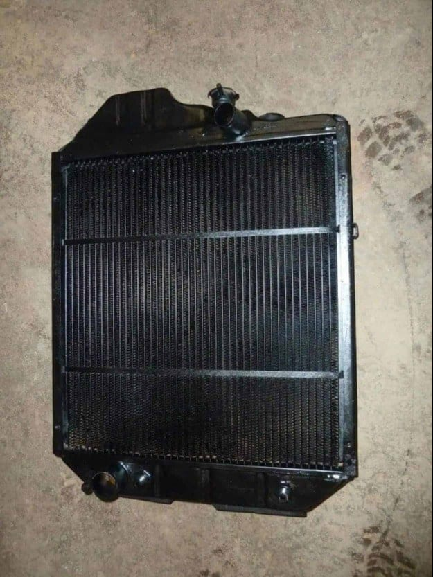 New Holland TS110 Tractor Radiator Repaired Devon