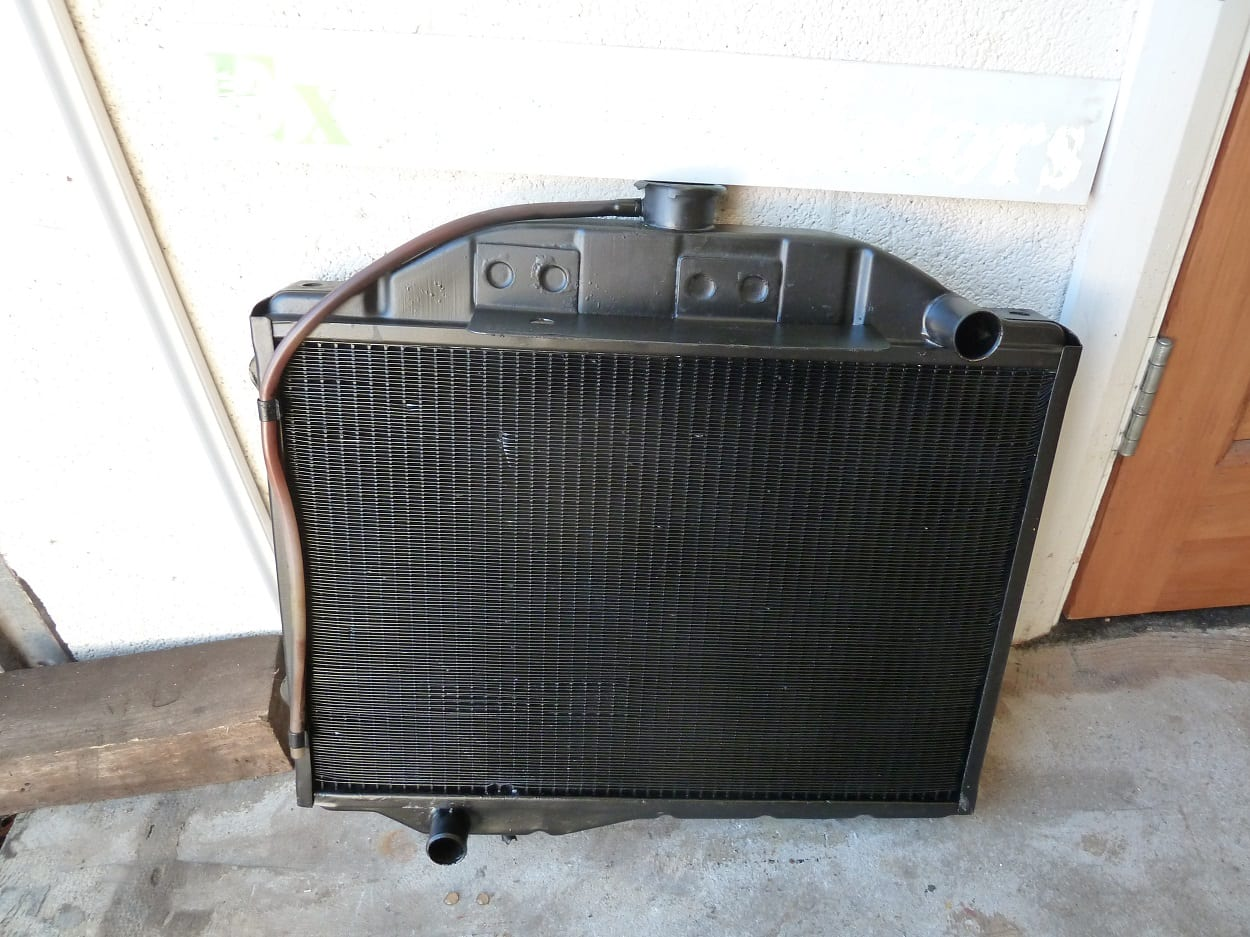 Riley 4-72 Radiator Repaired Teignmouth