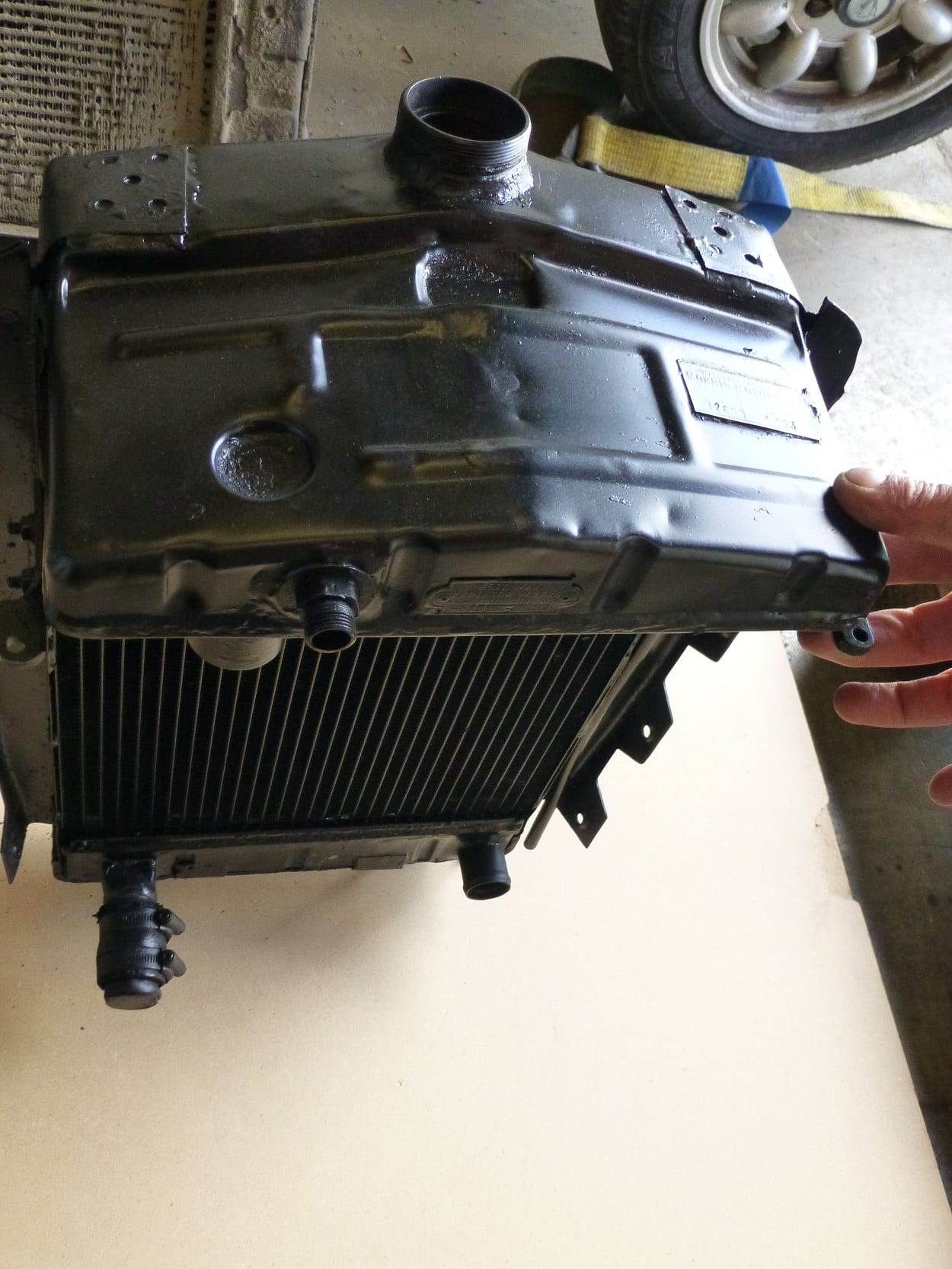 Rover 12 1938 Radiator. Tested and found to be okay. St Austell Cornwall