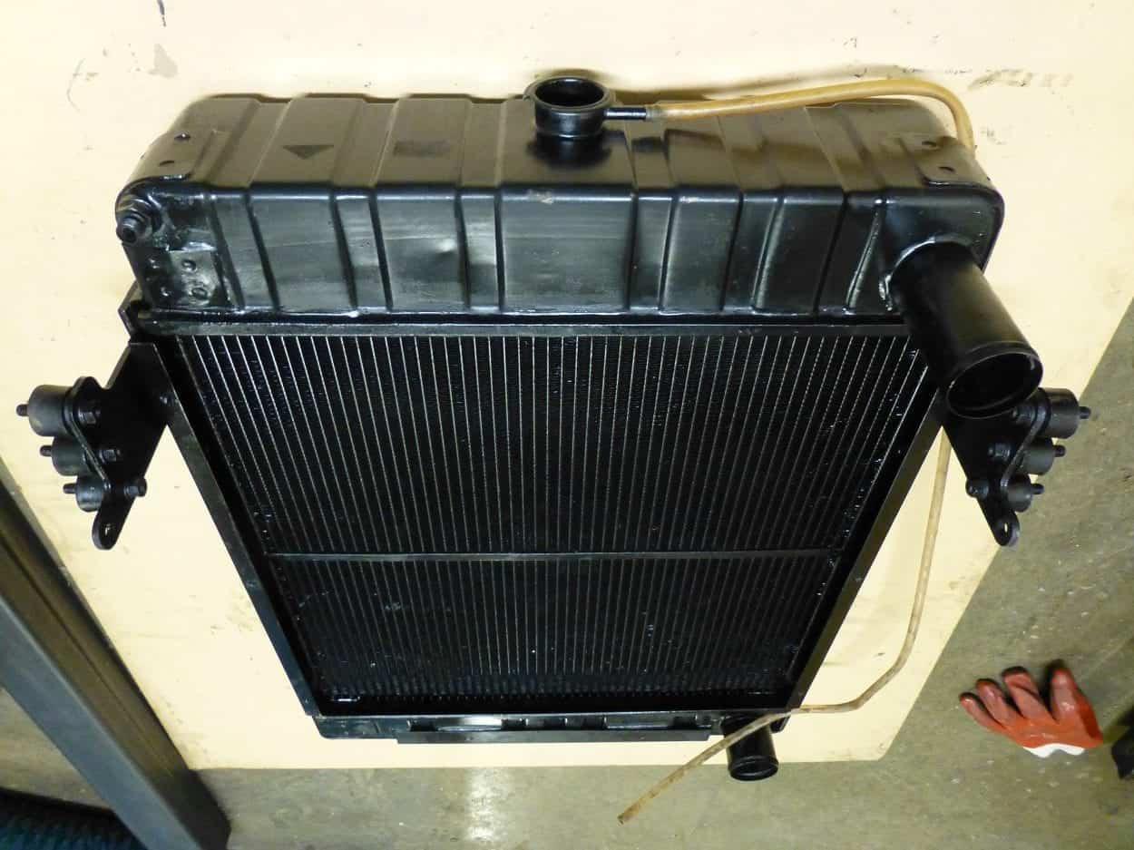 Thwaites 6 Ton Dumper Radiator Repaired Cornwall