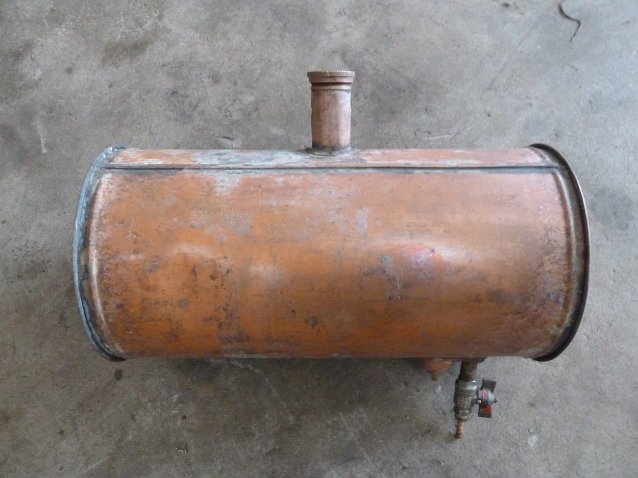 Boat Fuel Tank (Copper)