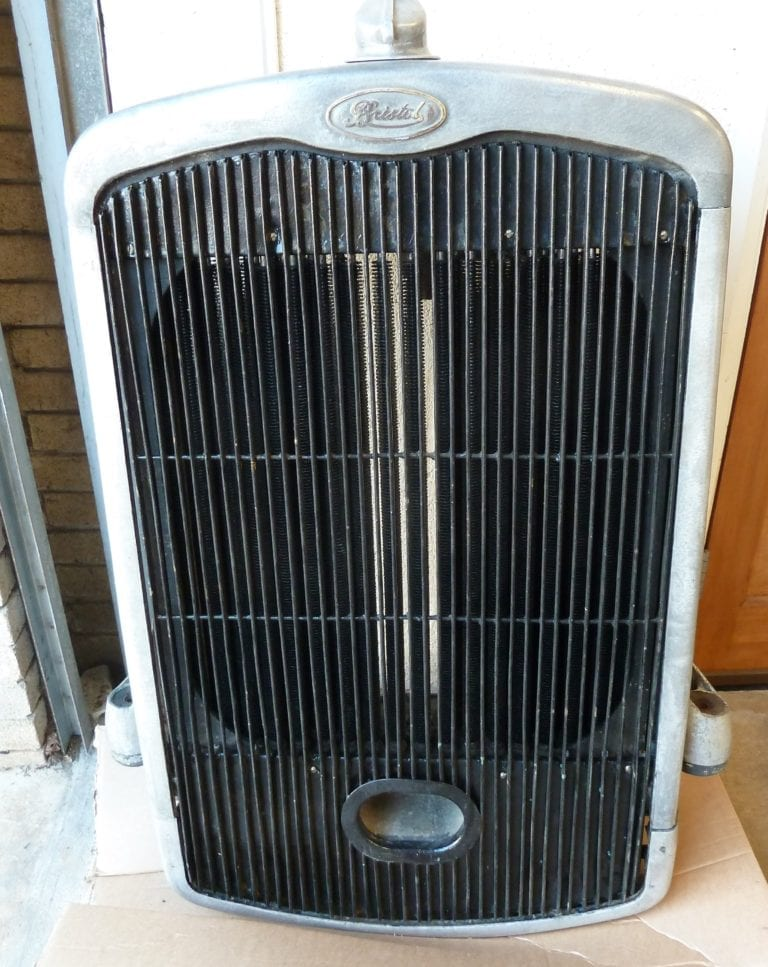 Bristol J-Type Bus Radiator