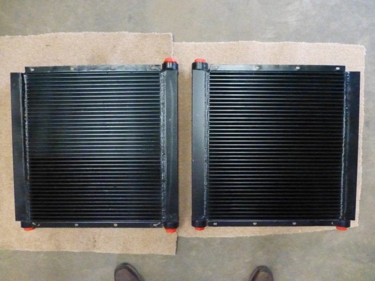Pair of Crusher Oil Coolers