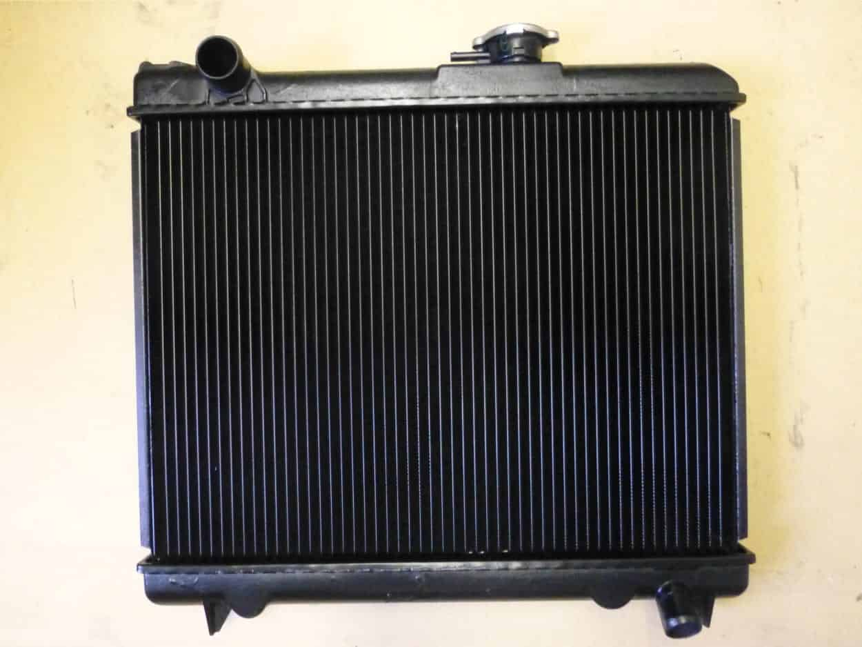 Donkey Engine Radiator for a Whale Trailer
