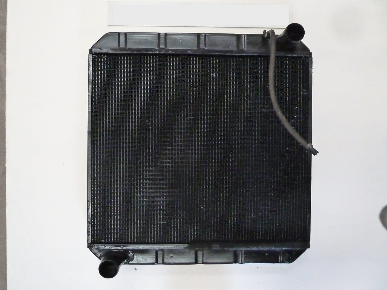 Sweeper Radiator Repaired Devon