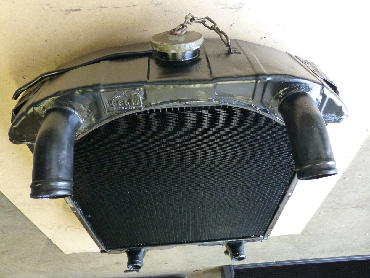 Ford Canada 13 Military Radiator