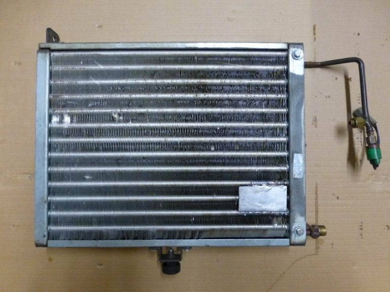 Manitou MLT Condenser Repaired