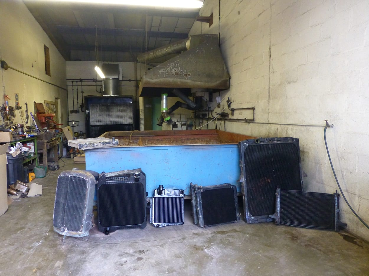Newquay Radiators Workshop