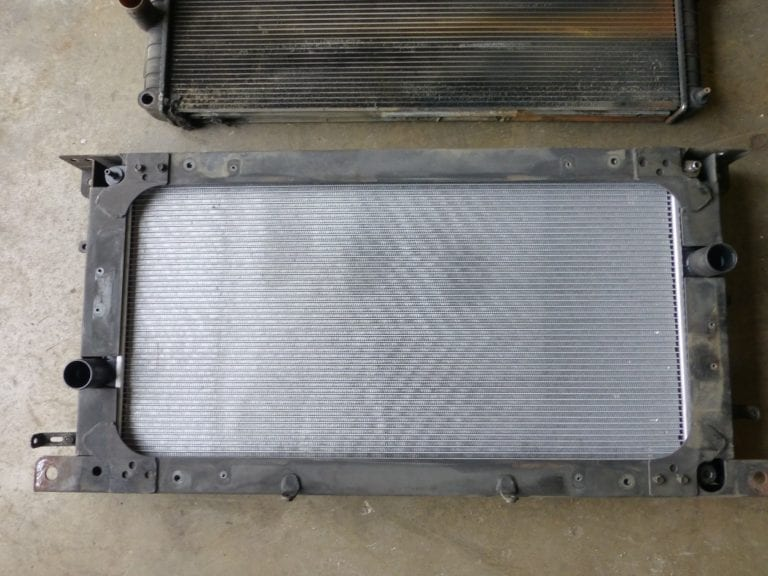 Volvo B10M Engine Radiator