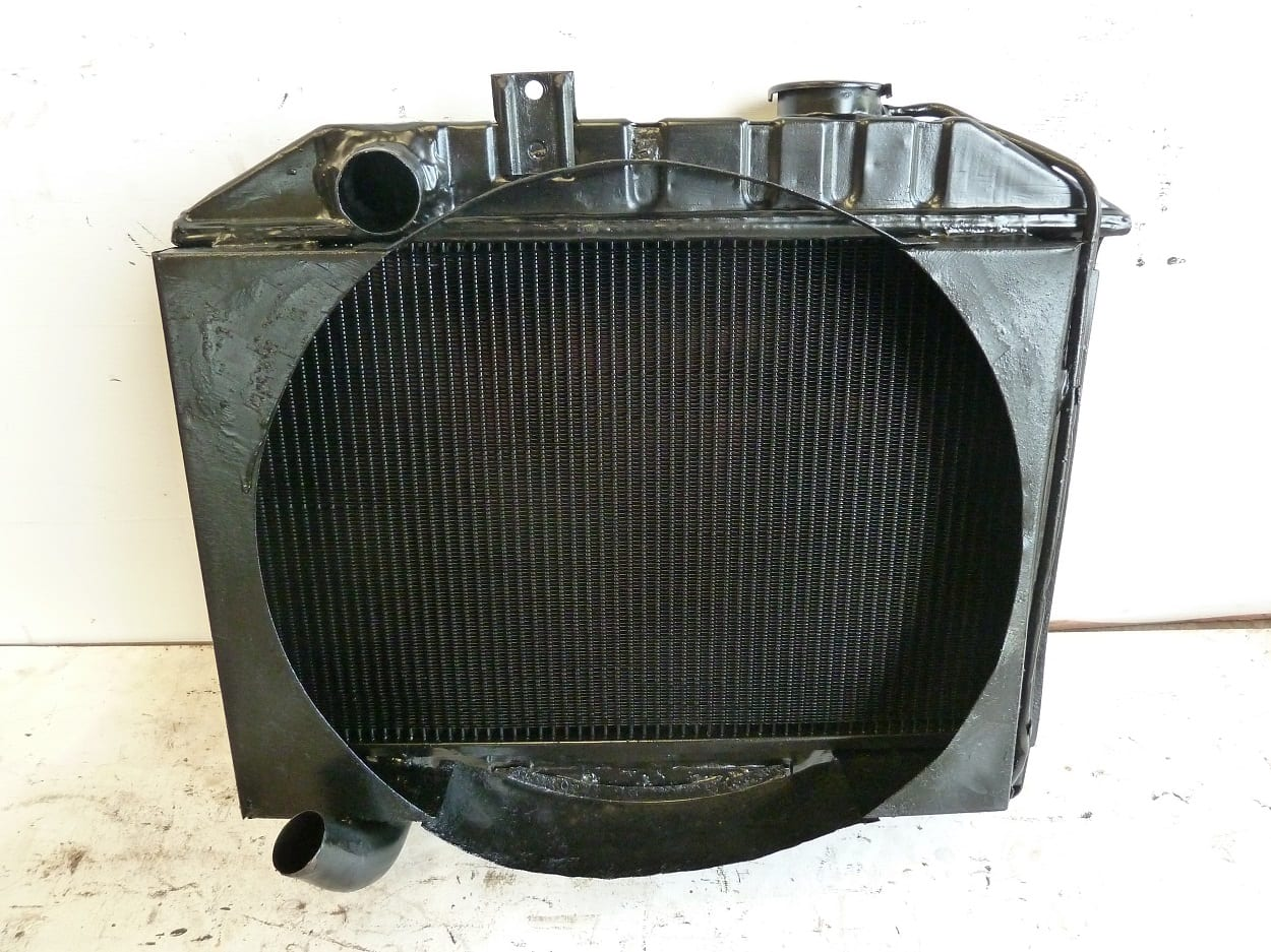 Willys Jeep Radiator Upgraded New Core