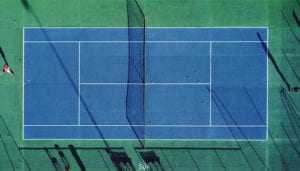Why are Tennis Courts Different Colours?