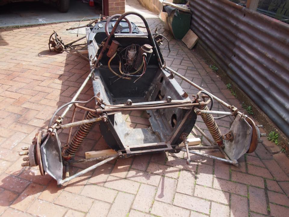 Racing Car Frame
